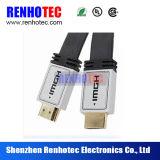 AVI flachen HDMI dem Kabel zu des HDMI Kabel-mit Metalshell