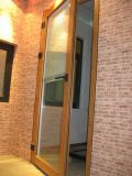 Porte de porte battante robuste avec aveugle automatique (pH-8833)