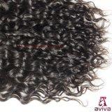 Prolonge normale péruvienne de cheveu de Vierge d'enroulement de l'eau