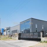Edificio industrial prefabricado de varios pisos de la estructura de acero