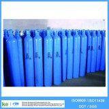 Cilindro de oxigênio ISO9809-3 do aço sem emenda