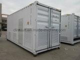 冷却される経済的な電力の携帯用無声ディーゼル発電機空気/水