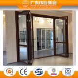 Grande porte coulissante en aluminium pour la Chambre de villa