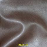 Qualidade resistente à abrasão estofos de Material de couro sintético de alta PU Fruniture