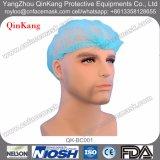 使い捨て可能な外科帽子、外科Nonwoven Bouffant帽子、毛の外科帽子