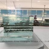 vidrio ultra claro del vidrio/flotador de 12m m para las paredes de Building&Curtain