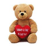 Большим игрушка медведя плюшевого медвежонка гигантским заполненная плюшем