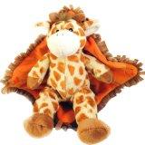 Manta rellena suave de la jirafa del recorrido del bebé