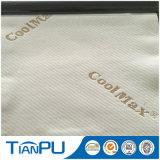 Tessuto di ticchettio del poli 30% Coolmax materasso del filato di 70%