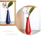 결혼식은 기하학적인 하락 모양 세라믹스 화병 홈 훈장 비치하는 꽃 병 기술 Jardiniere를 장식한다