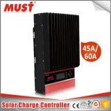 太陽系のための高品質45A MPPTの料金のコントローラ