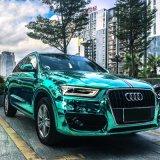 Tsautop heißes verkaufen1.52*30m wasserdichtes Luftblase-frei selbstklebendes Spiegel-Chrom-Überzug-Auto, das Belüftung-Aufkleber-Vinylauto-Verpackung einwickelt