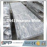 Vague de matériaux de construction en pierre polie blanc carreaux vitrifiés Granite Tile carrelage de sol