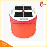 في الهواء الطلق المحمولة 10LED تغيير لون نفخ فانوس الشمسية قابلة للطي التخييم الخفيفة