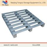 Paleta de acero galvanizada modificada para requisitos particulares para el almacén de Forkfit