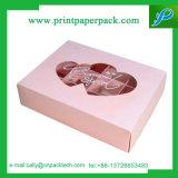 Коробка подарка бумаги выбора конфеты торта шоколада малая