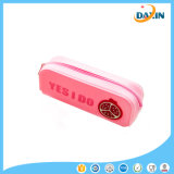 Ferramenta de estudante Custom Fruit Logo Design Waterproof Silicone Pencil Case