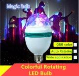 Ampoule magique tournante colorée DEL pour la barre de l'usager Dance/DJ de KTV/Holiday