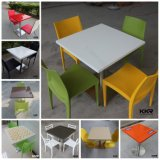 Moderna mesa de café de mármol de gran mesa de café de Starbucks (t1704144)