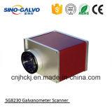 Explorador dinámico del Galvo del laser del foco de Sg8230-3D para la máquina de la marca del laser