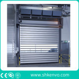 Porta de alta velocidade isolada térmica do obturador de rolamento para o quarto frio