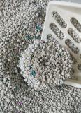 litière du chat de blanc de bentonite de sac tissée par 5kg