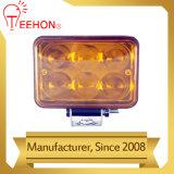 indicatore luminoso del fascio di punto 18W LED con l'obiettivo 4D