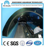 Surtidor de acrílico transparente del acuario