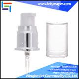 Silver Aluminum Cream Pump Plastic Treatment Pump for Soap