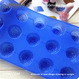 15 petits moulages de traitement au four de silicones des fleurs 29.5*17.5*2.5cm
