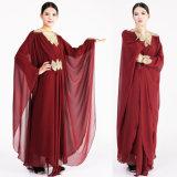 2017명의 충성하는 회교도 겉옷 여자 Abaya 복장