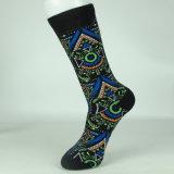 Großhandelszoll-Socken-Mannschafts-Socken-Entwurfs-Mann-Kleid-Socken