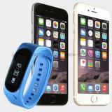 De nieuwe Waterdichte Slimme Manchetten van Bluetooth van de Geschiktheid met Afgedrukt Embleem (4001)