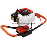 Teammax 62cc с бензиновым двигателем мощности землетрясения массы шнек