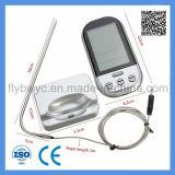 Barbacoa inalámbrico digital termómetro para alimentos carne Cocina Horno termómetro con 2 sondas