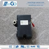 Interruttore a tre fasi del regolatore di pressione del compressore d'aria