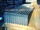 0.15mm гальванизированный вставая на сторону рифленый лист Material/Gi