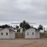 Casa prefabricada de estructura de acero ligero móvil