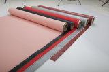 ケイ素の上塗を施してあるガラス繊維の網布、テフロンはガラス繊維の布、防水のための熱絶縁体のガラス繊維の布に塗った