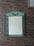 Деревянные рамы наружного зеркала заднего вида на стене для сада украшения