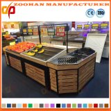 Supermarkt-hölzerne Obst- und GemüseRegal-Bildschirmanzeige-Zahnstangen-Geräte (Zhv54)