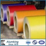 Bobina de aço revestida cor da boa qualidade PPGI de baixo preço para a folha da telhadura, metal de alumínio