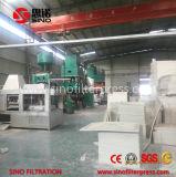 Prensa de filtro hidráulica automática industrial del compartimiento