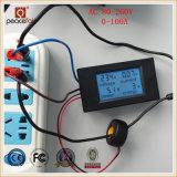 AC単一フェーズ100A 4in1の電圧現在の力エネルギーデジタル力メートル