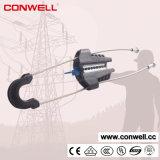 Braçadeira de cabo plástica da linha eléctrica
