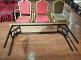 합판 최고 금속 기본적인 폴딩 직사각형 테이블 긴 테이블