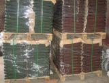 Tipo plano teja de metal / teja de metal revestida de piedra de colores