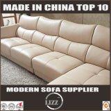 安い白革の部門別の居間のソファー