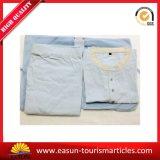 Accappatoio/pigiama/indumenti da letto promozionali del cotone, pigiami poco costosi di linea aerea