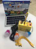 10W 12V 9AH самонаводят наборы пользы и освещения напольной пользы портативные солнечные